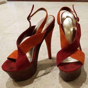 Bakers platform stiletto sexy shoe